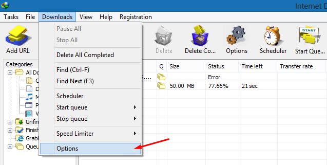 Meningkatkan Kecepatan Download IDM