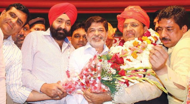 Indian Vice-Chancellor welcomed Cabinet Minister Vipul Goyal in Old Faridabad