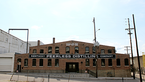 Kentucky Peerless Distilling Company Louisville Moonshine