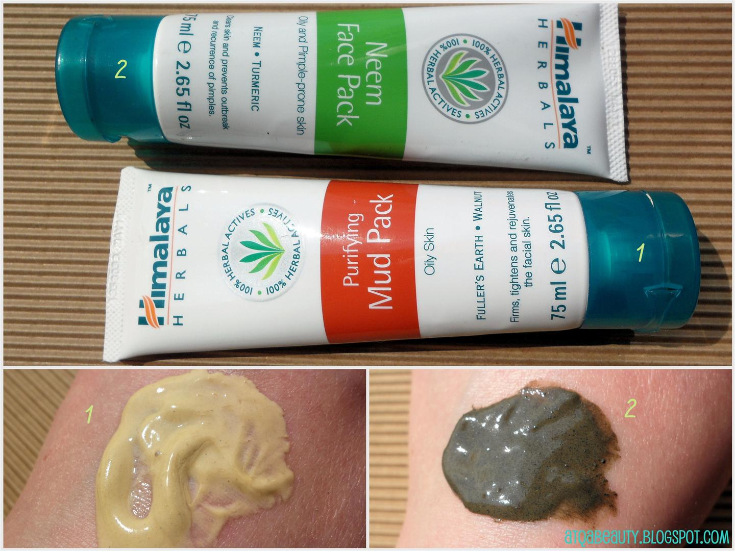 Himalaya Herbals, Purifying Mud Pack i Neem Face Pack