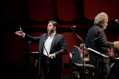 Berlioz: La damnation de Faust dress rehearsal- Alexandre Duhamel, John Nelson - Orchestre Philharmonique de Strasbourg (Photo Gregory Massat)