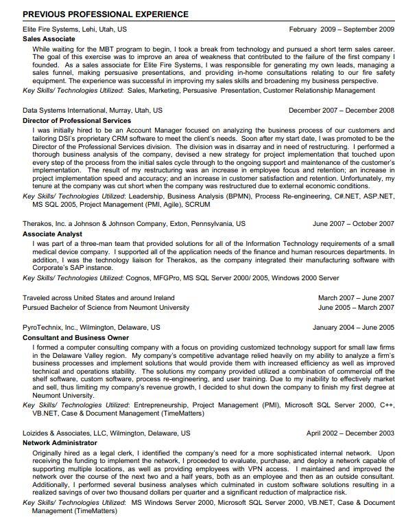 Resume Writing Jobstreet. jobstreet resume format example sample ...