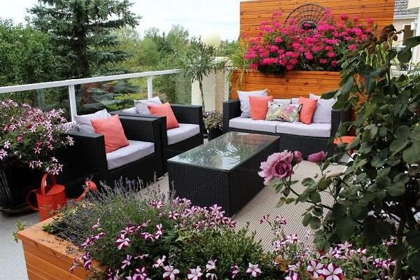 How to Create Beautiful Rooftop Garden for Rooftop Patio