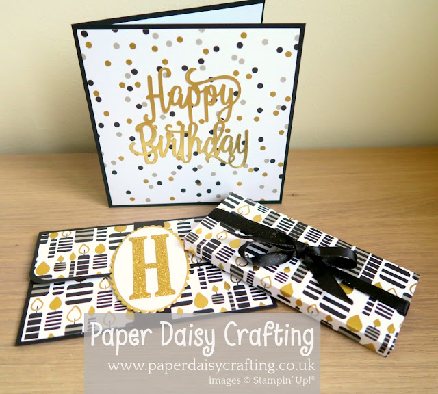 Broadway Bound, Happy birthday thinlits die, Stampin Up