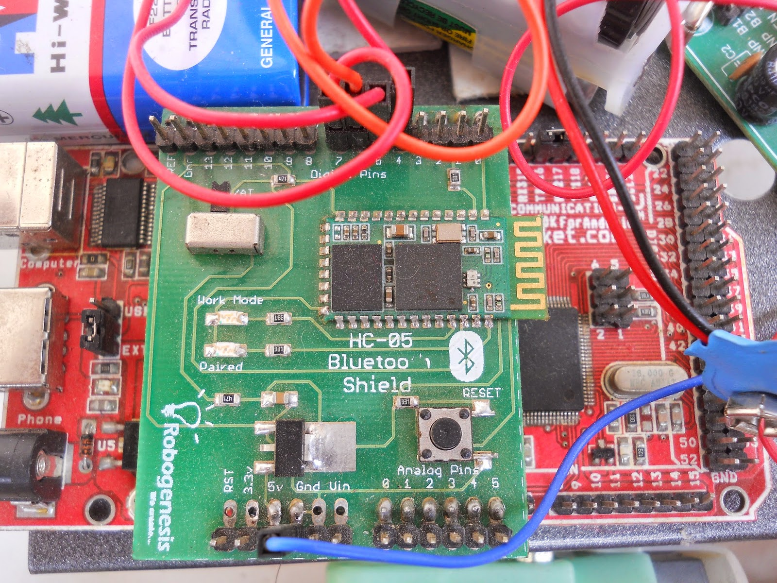 Robo Zone Bluetooth Controlled Robot Using Arduino Car Circuit Diagram This Article Helps You To Make A That Can Be From Your Android Powered Mobile Through