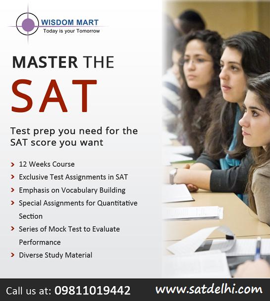 best SAT coaching in Delhi