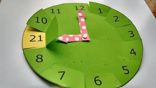 recurso para aprender la hora