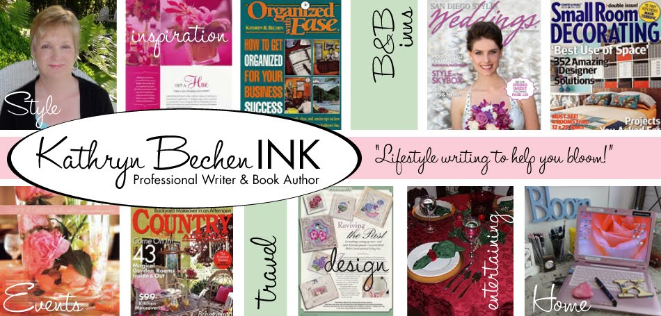 Kathryn Bechen INK Professional Writer &  Book Author