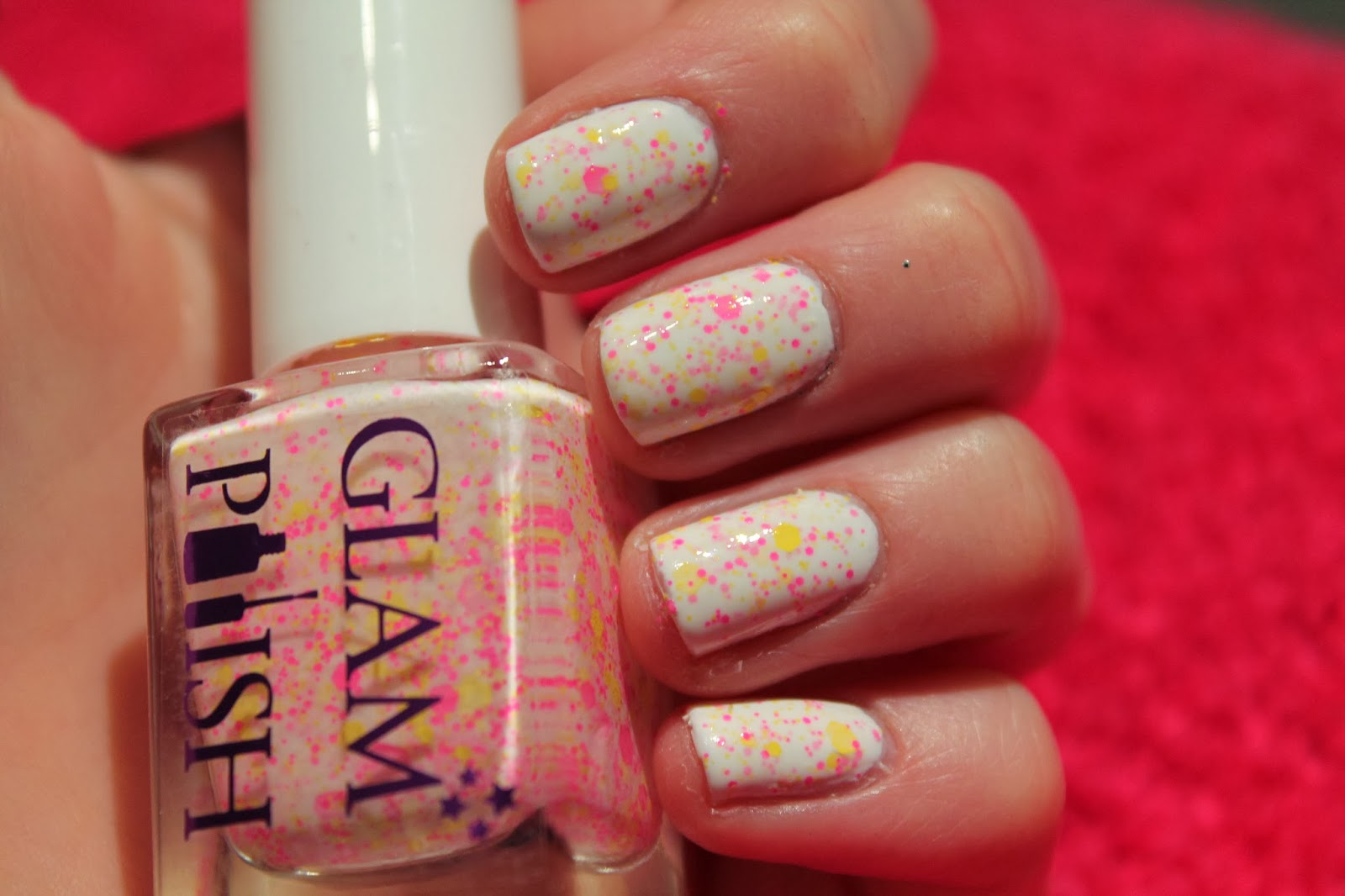 Glam Polish - So Fluffy I Wanna Die, Indie Nail Polish Swatch