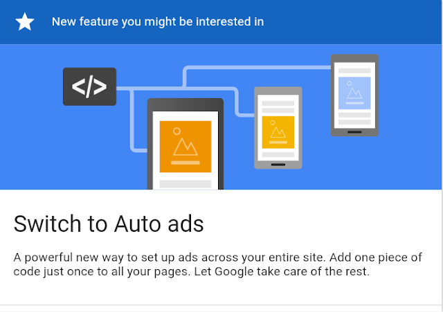 Adsense introduced new feature