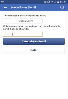 Email Baru Facebook