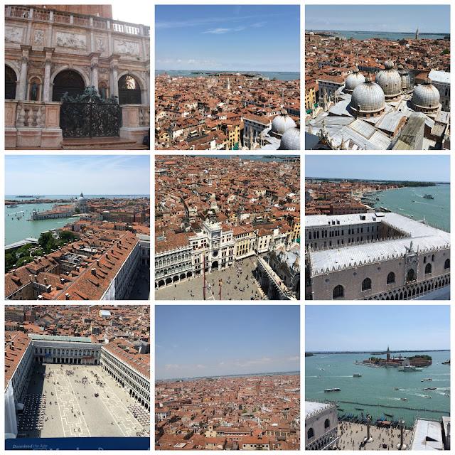 Veneza vista do Campanário de San Marco