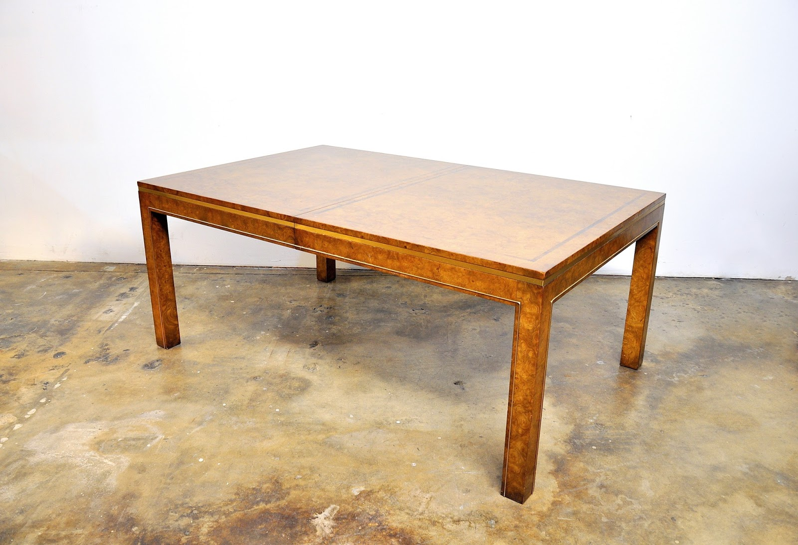 Select modern mastercraft burl rosewood and brass for Table 52 2016