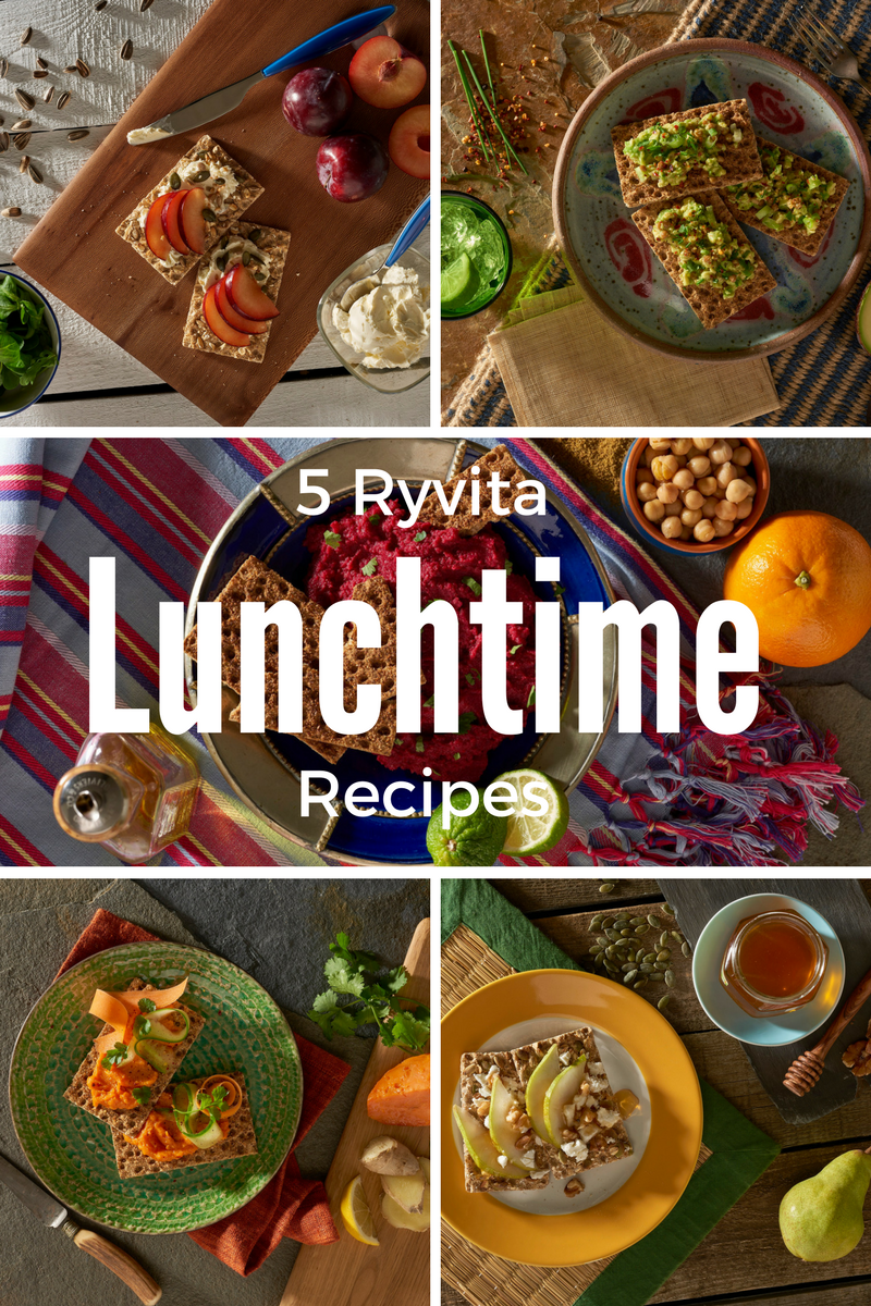 5 Ryvita Lunchtime Recipes