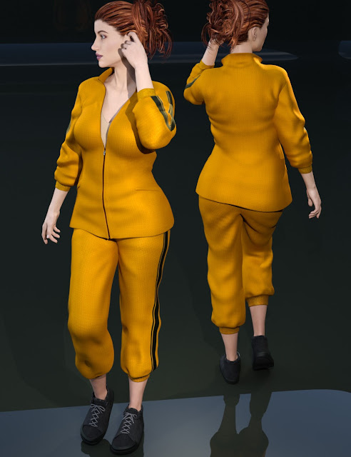 Everyday Training Wear for Genesis 3 Female