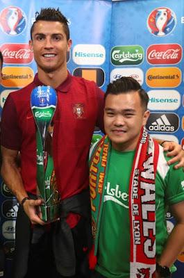 Cristiano Ronaldo Reuben Kang