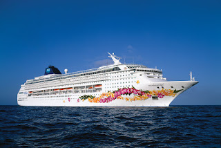 Norwegian Cruise Line's Norwegian Sky at sea