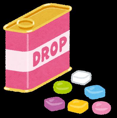 ドロップ・キャンディーのイラスト