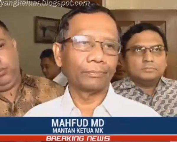 Mahfud MD Menjadi Cawapres Jokowi di Pilres 2019