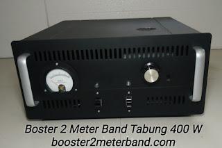 Boster 2 Meter Band VHF Tabung 400 W Tinggal Colok Listrik