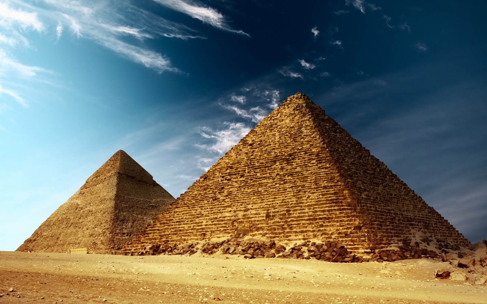 The pyramids of ancient egypt