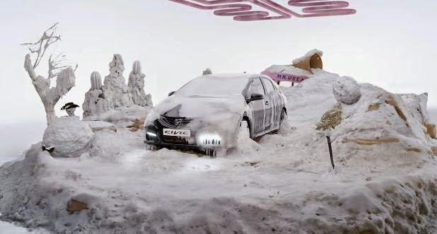 Honda Civic - Hot And Cold