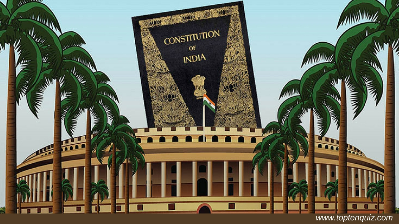 Quiz on Sources of Indian Constitution