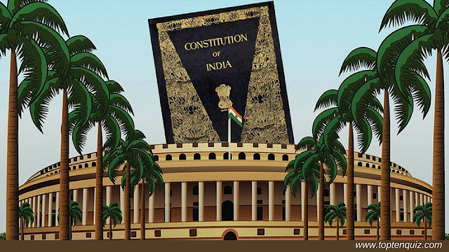 MCQ on Indian Constitution