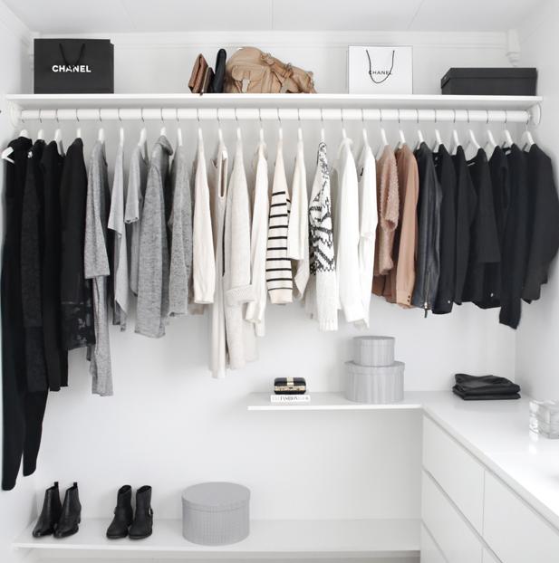 in 7 schritten zur perfekten garderobe anleitung f r eine. Black Bedroom Furniture Sets. Home Design Ideas