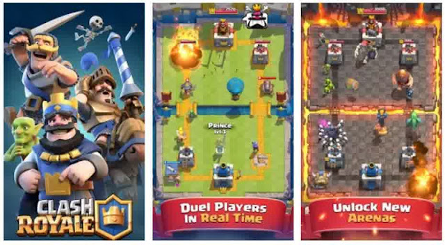 Download Clash Royale Di Google Play dan Apple Store