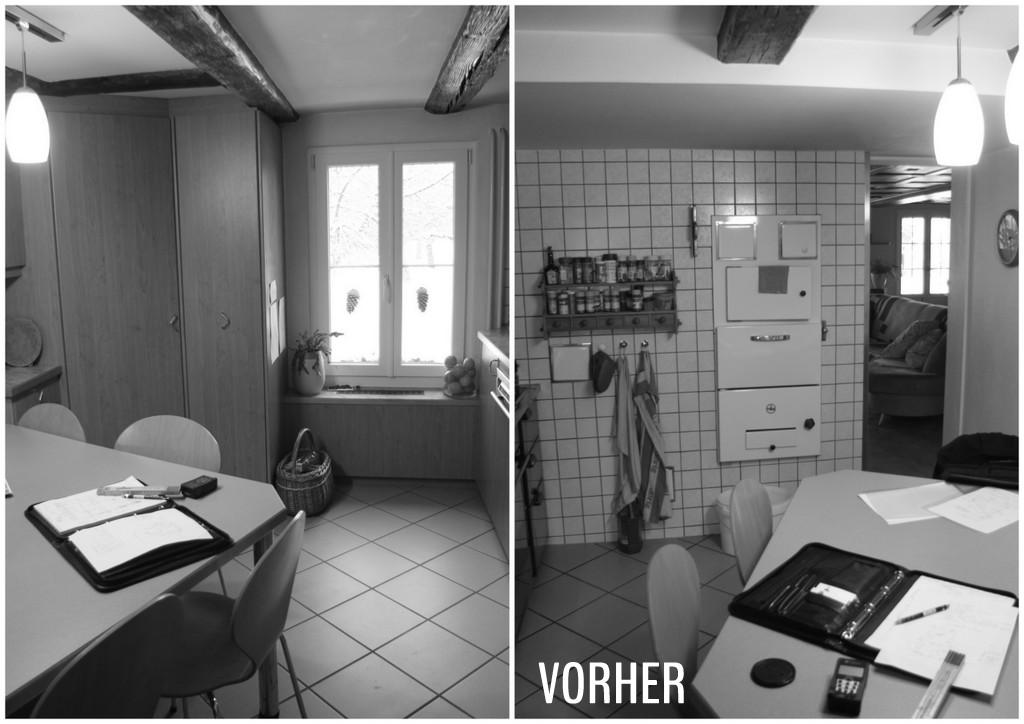 Ausgangslage: Zu Kleine Küche, Zuwenig Arbeitsfläche Und Stauraum,  Sitzplatz Für Mind. 6 Personen Gewünscht.