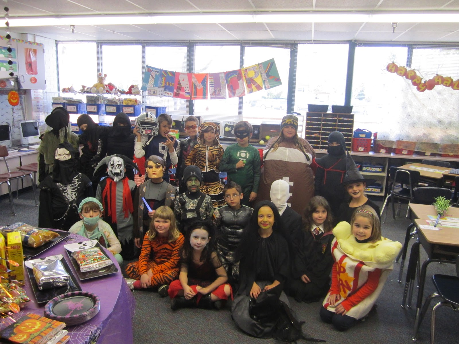 Halloween Parties For 3rd Graders