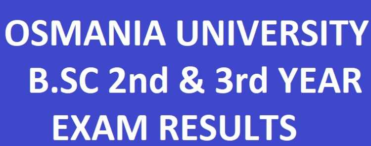 OU MBA 1st/2nd/3rd/4th Sem Regular/Supply Exam Result