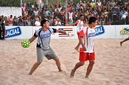 ESPORTE - Terceira etapa do Maranhense de Beach Soccer começou nessa quarta e vai até domingo em Caxias