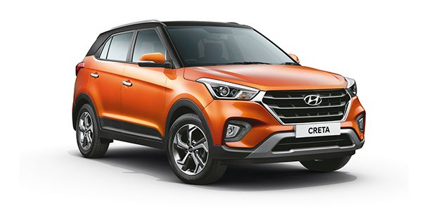 2018 Hyundai Creta Facelift version SUV wallpaper