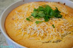 Cornbread Taco Pie