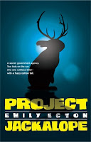 book cover of Project Jackalope by Emily Ecton published by Chronicle Books