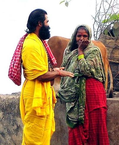 Sadhu To Lady