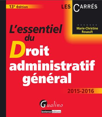 L'essentiel du droit administratif général pdf