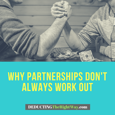 Why do partnerships fail | www.deductingtherightway.com