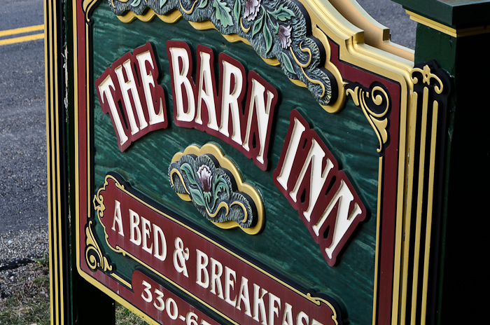Projects and Photographs: The Barn Inn, Millersburg