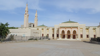 Its name is Saudique Mosque