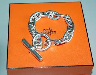 BIJOUX ET PIERRES PRECIEUSES  Le Bracelet Chaine d Ancre d Hermes a ... e9055c3744a