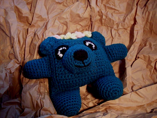 teal crochet amigurumi bear pattern