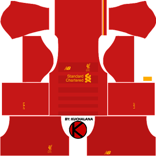 Liverpool Kits 2016/2017 - Dream League Soccer 2017 & FTS15