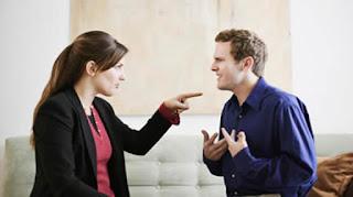 Reclamos y reproche en la pareja