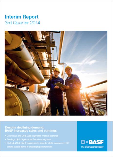 BASF report Q3 2014