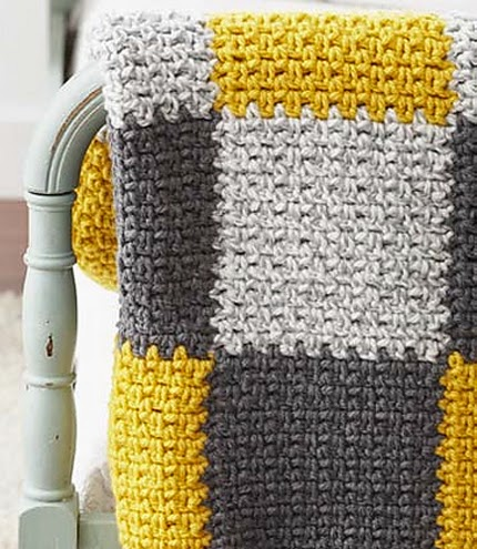 Patchwork Blanket - Free Pattern