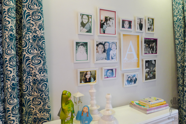 white frame display, frame gallery, gallery wall