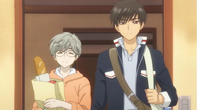 Yukito and Touya in college now.